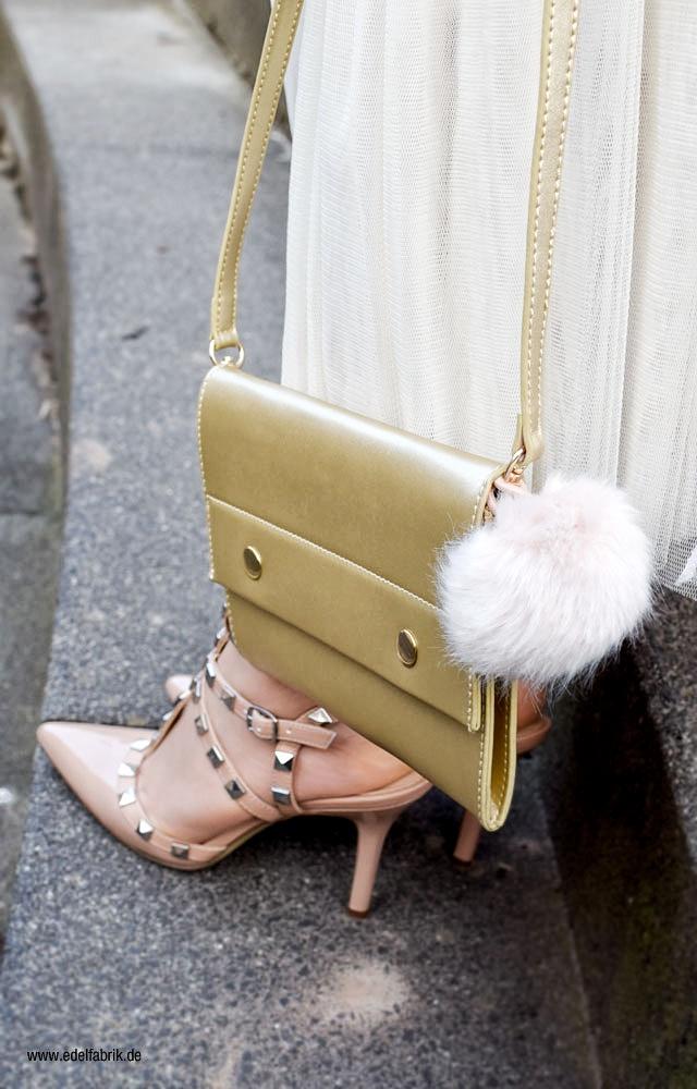 Rosa Studded Heels, Studded High Heels