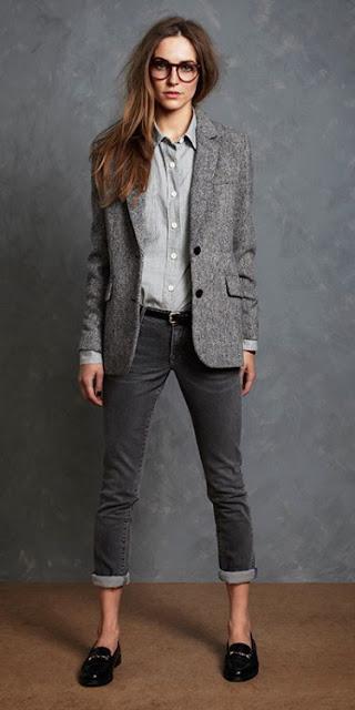 blusas y blazers