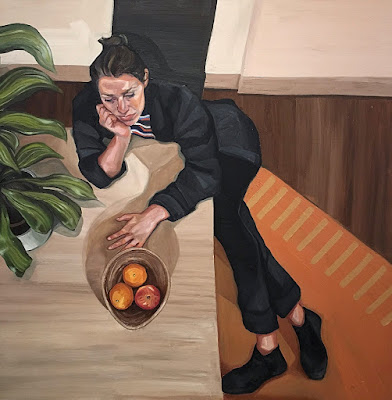 Autoportrait, Ania Hobson