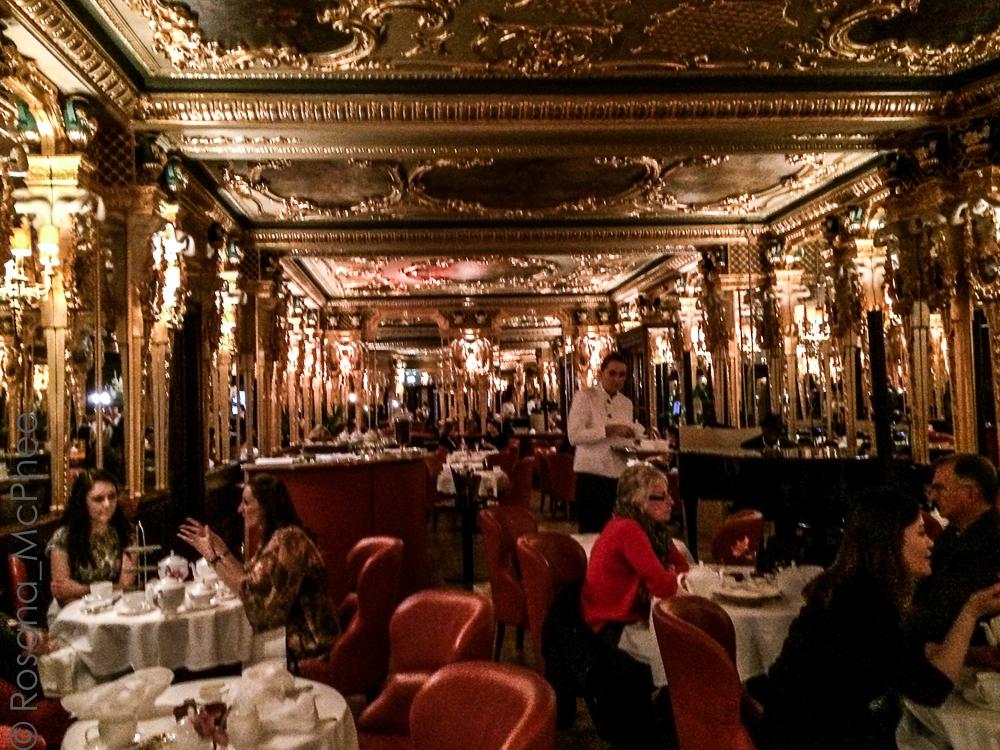 London Cafe Royal Afternoon Tea