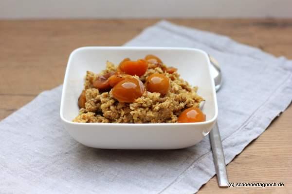 Winterliches Gewürz-Porridge