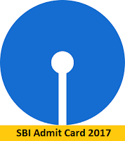 SBI Admit Card 2017
