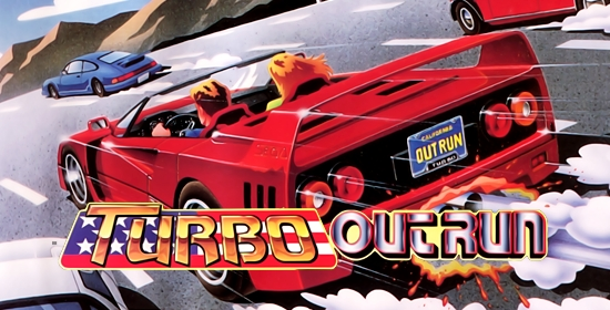 Turbo Outrun para Commodore amiga
