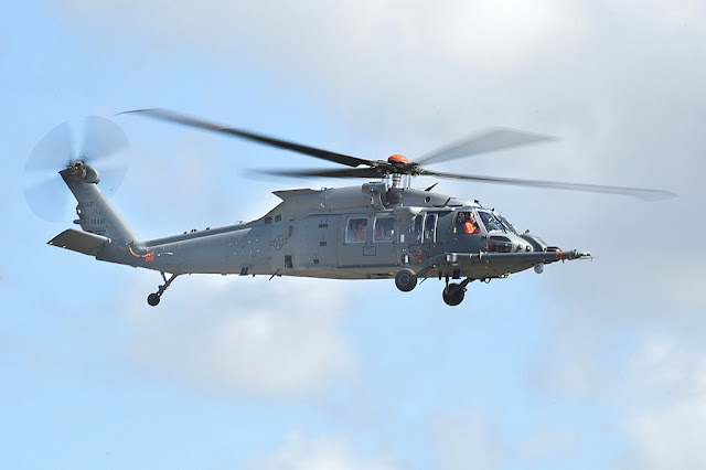 USAF pilot flies HH-60W first time
