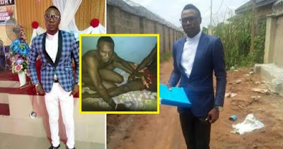 Delta State Minister Caught Red Handed With A Guy Doing It At Otefe Polytechnic Oghara | Must See Photos