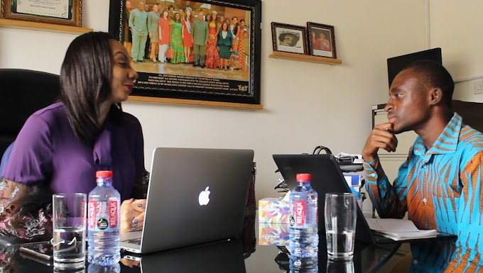 #InspirationalChat with Inna Patty, CEO of Exclusive Events and Organiser for Miss Ghana. #BeInspired