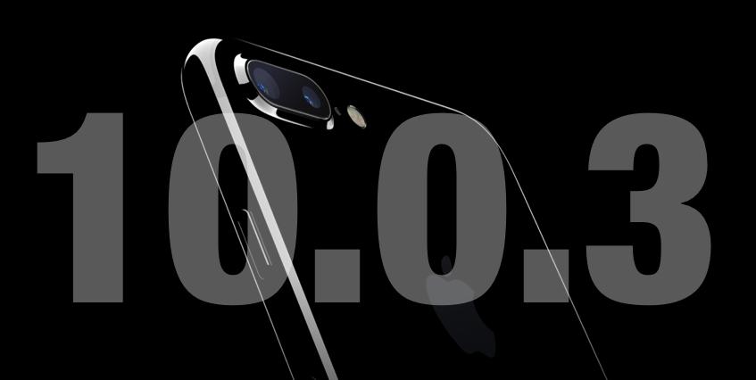 iOS 10.0.3 Firmware