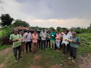 MP News-Chhatarpur-रोजगार और विकास के लिये चला बक्सवाहा  में पोस्टकार्ड अभियानMP News - Postcard campaign started in Buxwaha for employment and development