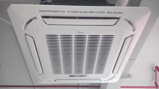 Hệ thống chuyên Bán Máy lạnh âm trần thương hiệu Midea 3HP (Việt nam) cho chủ đầu tư