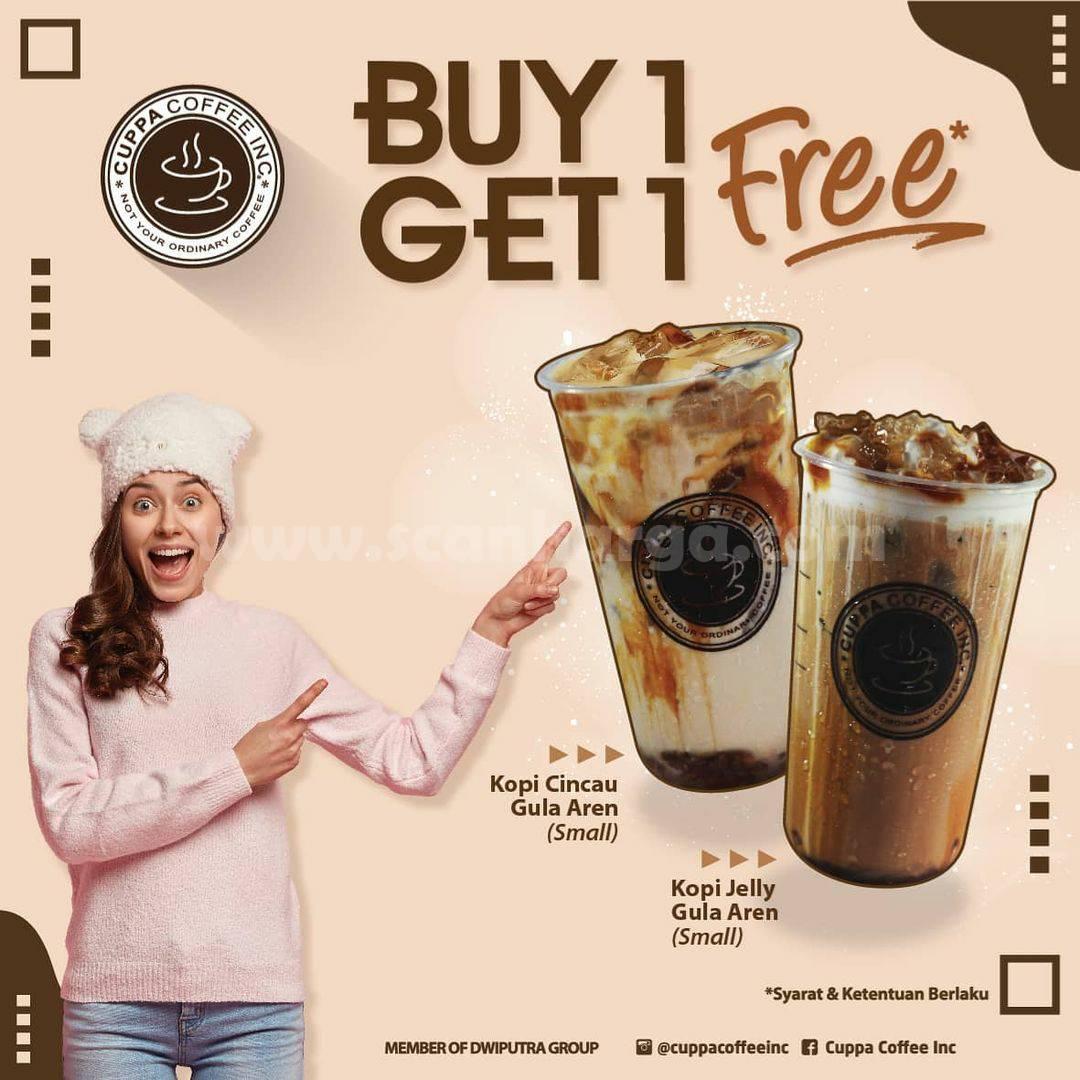 Promo Cuppa Coffee Terbaru - Buy 1 Get 1 Free
