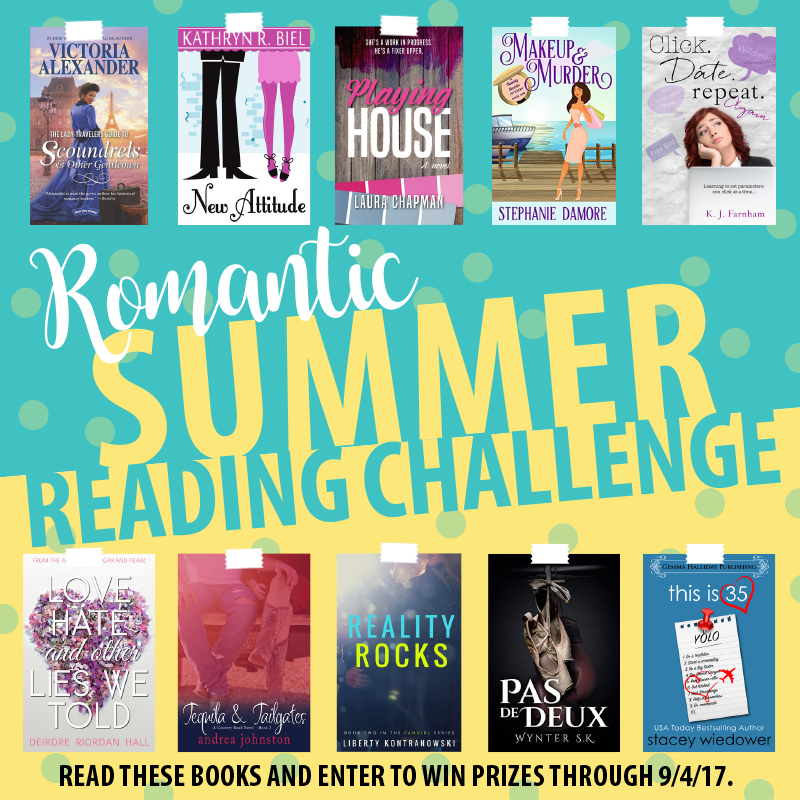 The Book Bag Romantic Summer Reading Challenge
