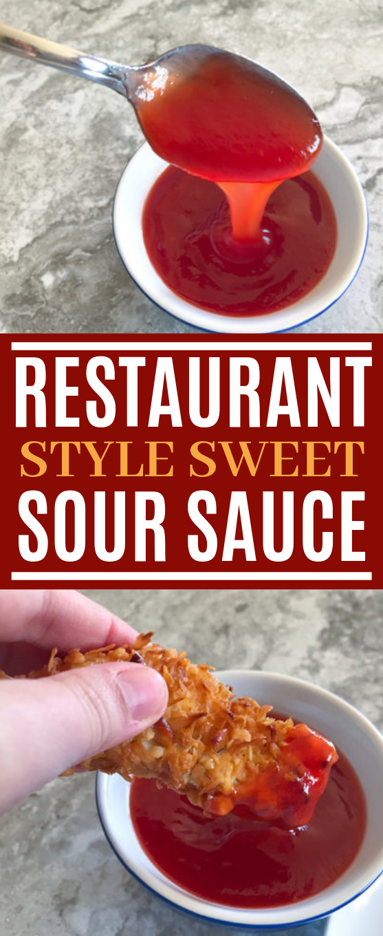 Restaurant Style Sweet and Sour Sauce #asian #recipes