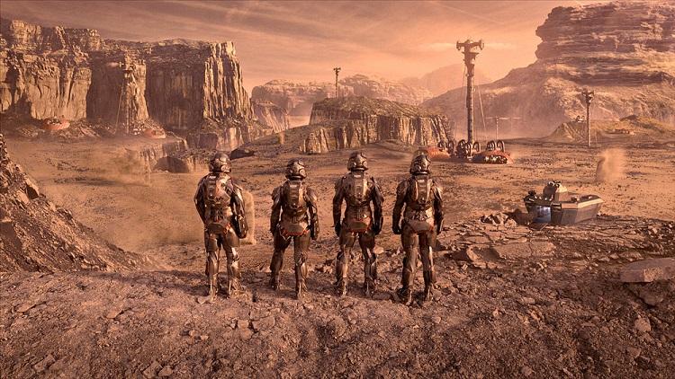 The Expanse - Mars