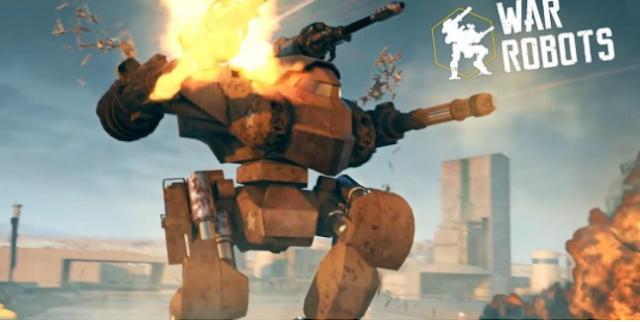 تحميل لعبة War Robots الاصدار الاخير للاندرويد