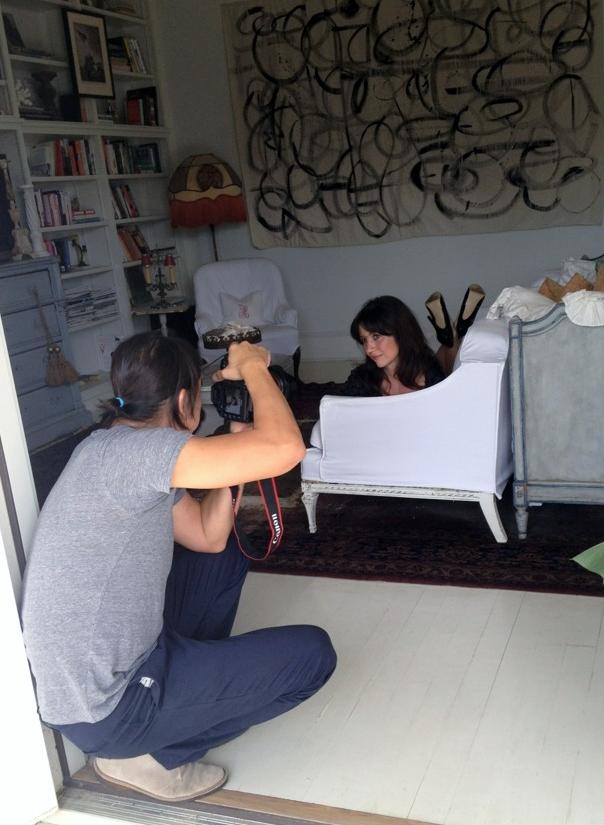 Disegno Karina Gentinetta More Magazine June 2012 Issue: Disegno Karina Gentinetta: Lights, Camera, Action