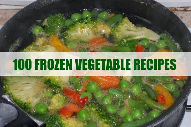 100 Frozen Vegetable Recipes | Becky Cooks Lightly #frozenvegetablerecipes
