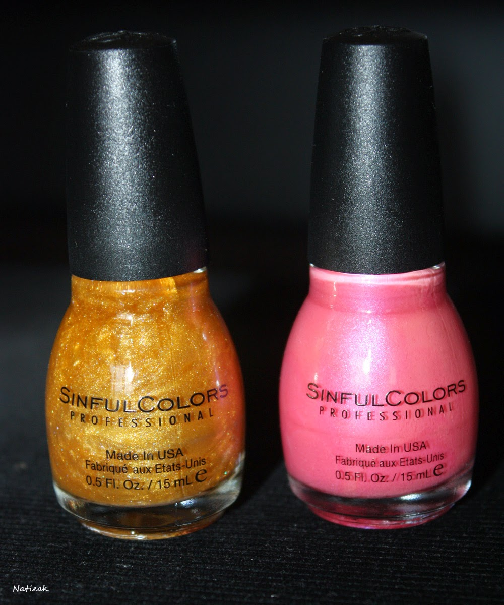 vernis à ongles Sinful Colors This is it  et Dardevil