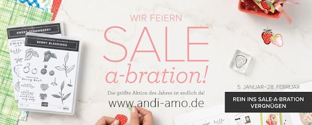 Stampin Up Sale-A-Bration 2021 Gratis Geschenke