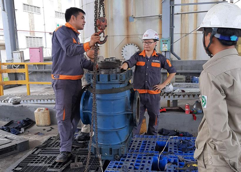 Sửa máy thổi khí ROBUSCHI RBS 126/V - KCN Đình Vũ HP