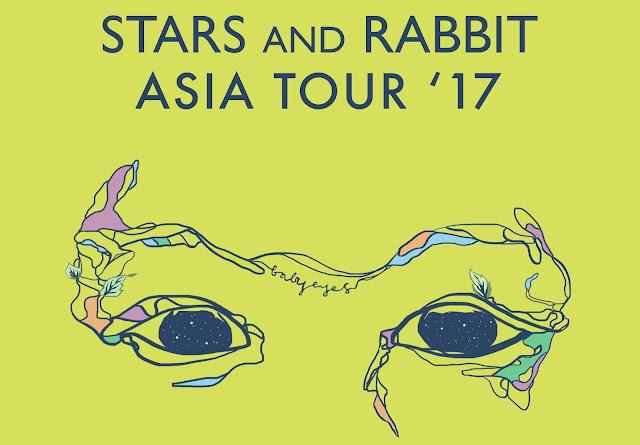 Stars and Rabbit Umumkan Jadwal Tur Konser Asia Baby Eyes Asia Tour 2017 - Lorong Musik