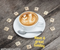 good morning for sunday
