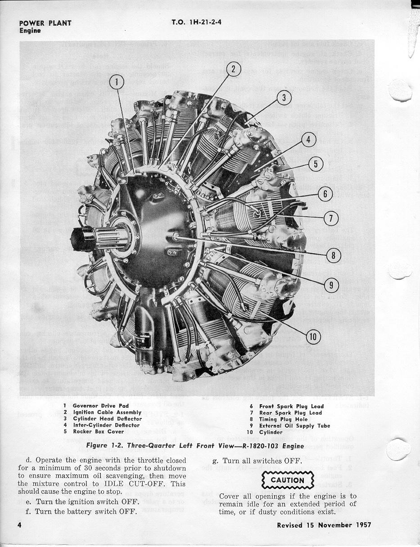 H-21 - Engine - Wright Cyclone