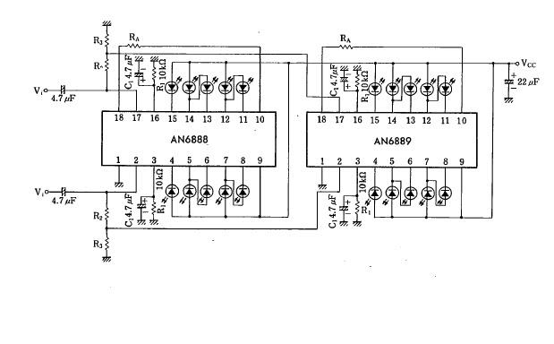 Nerdstuff: Reuse Scrapped VU meter as Voltage and Ampere