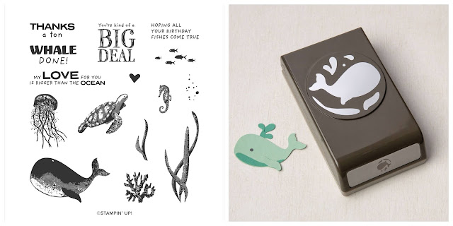 Craftyduckydoodah, Whale Done, Stampin' Up, Stamping INKspirations Blog Hop,