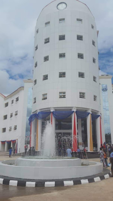 Afe Babalola University Commissions Senate Building - The White Rock (Photos)