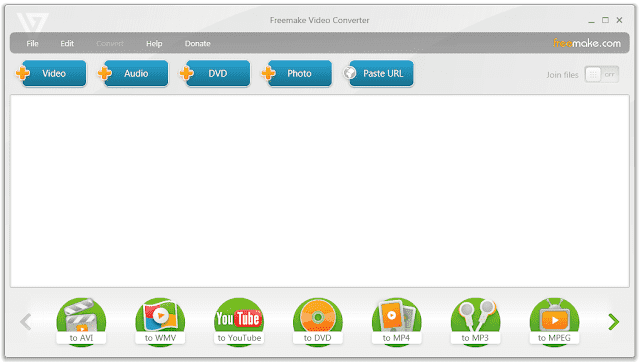 Screenshot Freemake Video Converter 4.1.10.409 Full Version