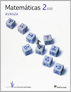 Libro Matemáticas 2º ESO Santillana Proyecto Los Caminos del Saber