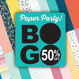 BOGO! half-price Paper Packets during March!