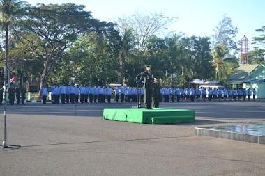 Korem 161/WS gelar Upacara peringatan HUT Kemerdekaan RI