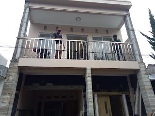 kelebihan balkon stainless untuk di luar rumah - bengkel