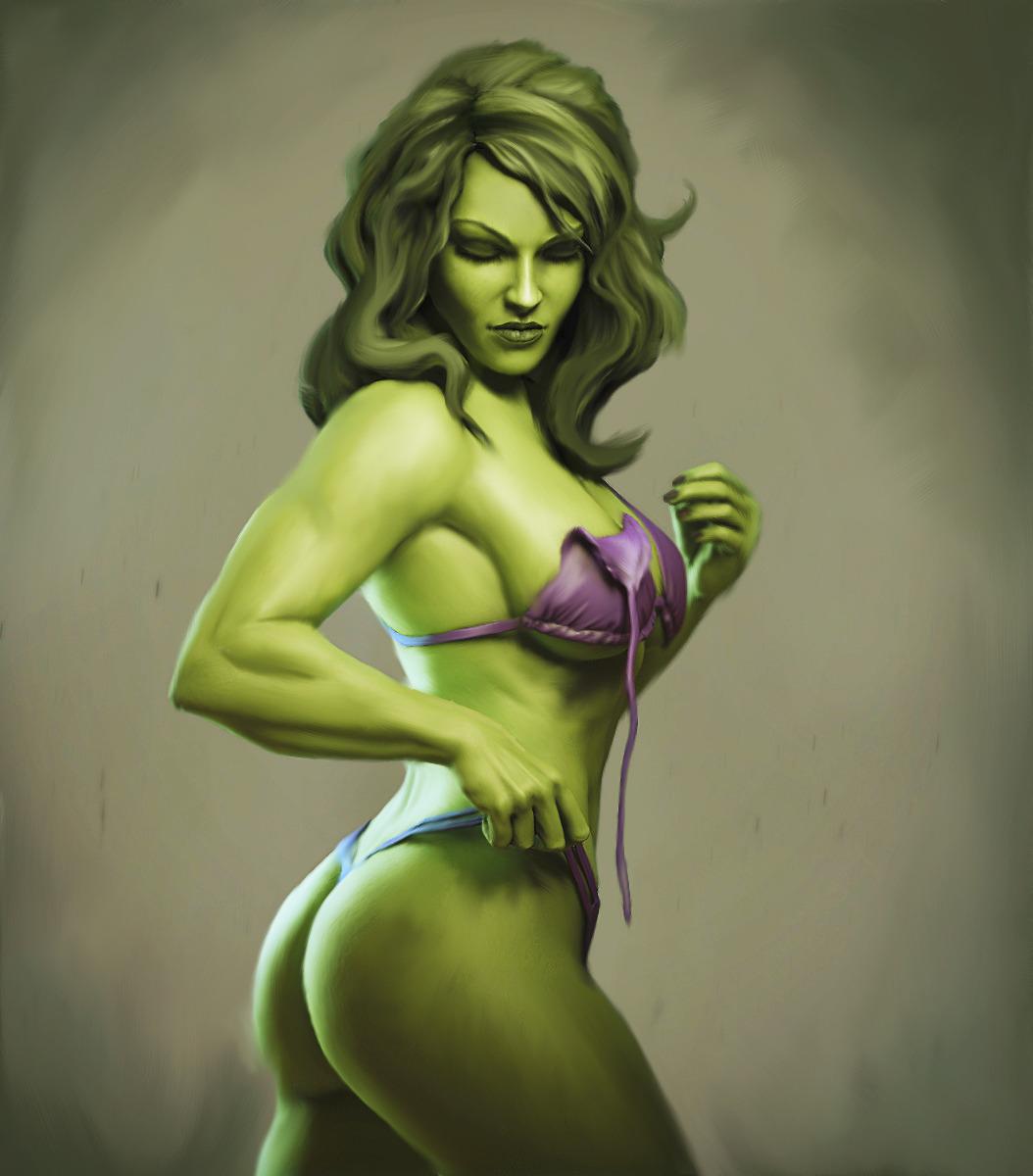 How To Carve Roast Unicorn Sexy She Hulk Grrr