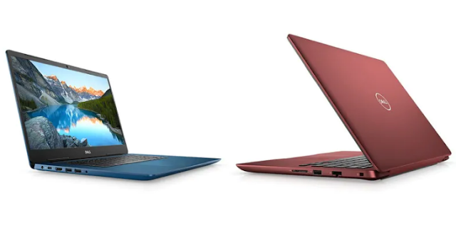 Dell Inspiron 5480 and Inspiron 5580 is available in three different colors.