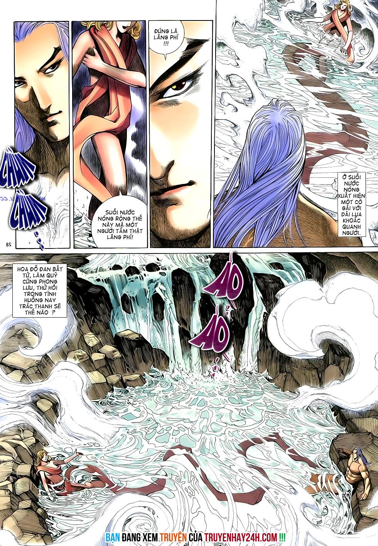 Anh hùng vô lệ Chap 16: Kiếm túy sư cuồng bất lưu đấu  trang 29