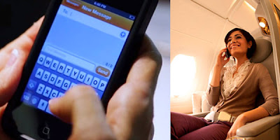 How will in-flight cell phone use impact the passenger experience?