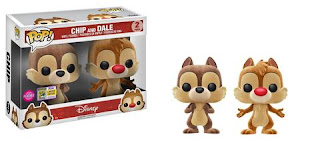 Pop! Disney: Chip & Dale 2-pack.
