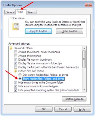 Cara Menampilkan File Dan Folder Tersembunyi Dalam Flashdisk