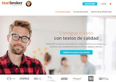 Homepage - TextBroker
