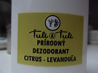 ťuli a ťuli dezodorant citrus - levanduľa
