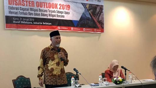 Disaster Outlook 2019, Mahyeldi Paparkan Program Padang Cerdas Bencana