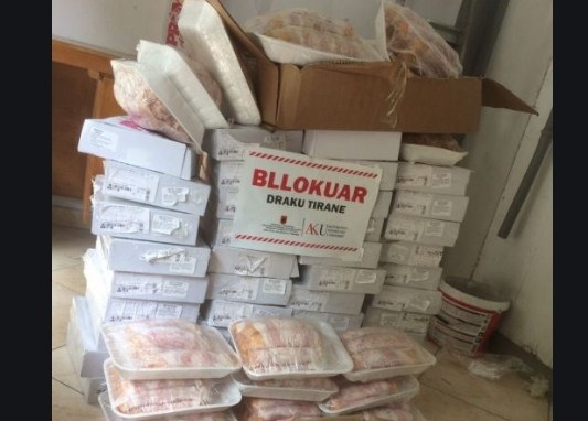 387 tonnes of meat coming from Brazil and Canada blocked in Albania, resulting with Salmonella and without origin certificate