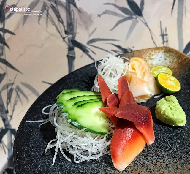 Hokkigai Sashimi from Tori Ichi BGC