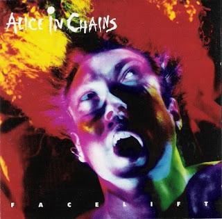 bright coloured surprised face on album cover