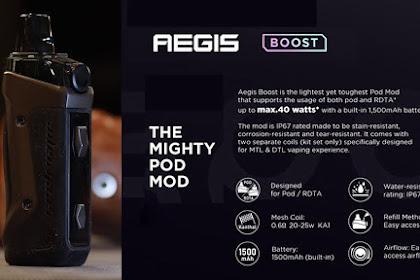 Kelebihan dan Kekurangan Geekvape Aegis x dan Aegis Boost Pod