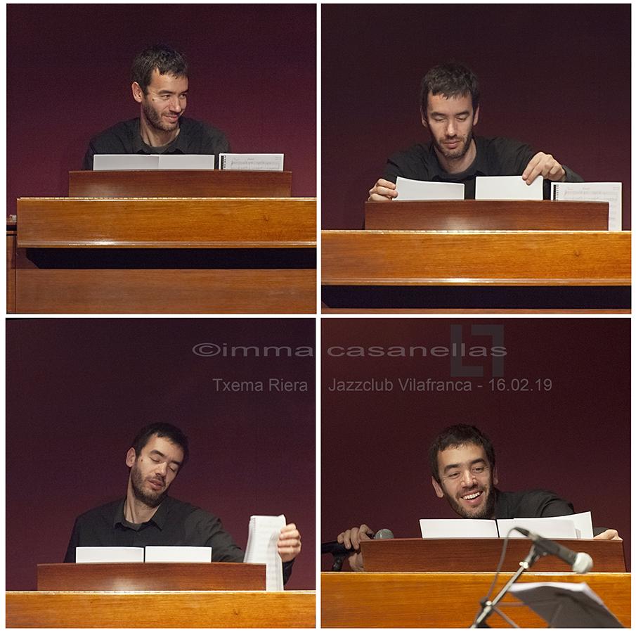 Txema Riera, Auditori Vinseum, Vilafranca del Penedès, 16-feb-2019