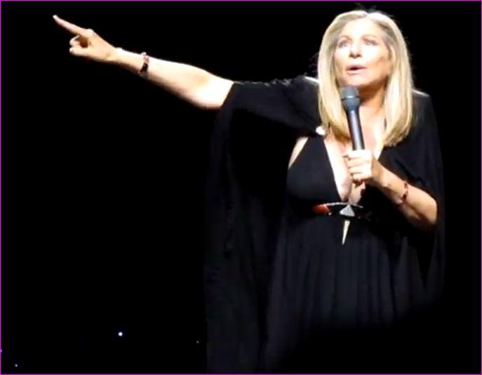 VJBrendan com: Barbra Streisand Sings 'Enough is Enough' to