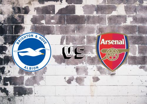 Brighton & Hove Albion vs Arsenal  Resumen y Partido Completo